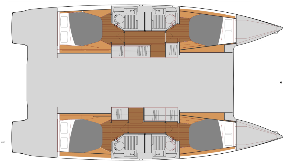 Fountaine Pajot Astrea 42, Muttley