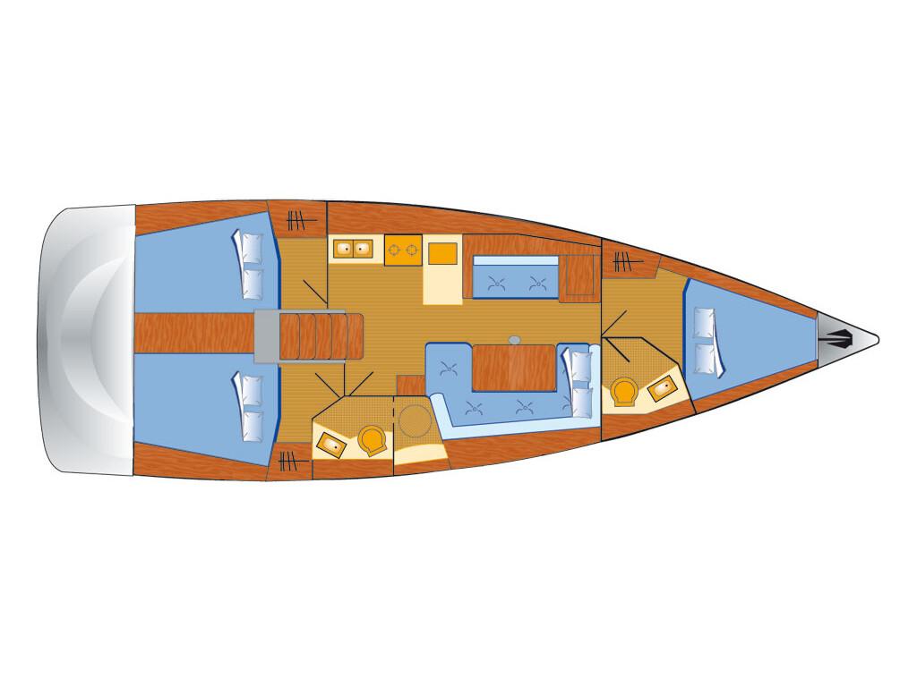 Oceanis 41, Noah