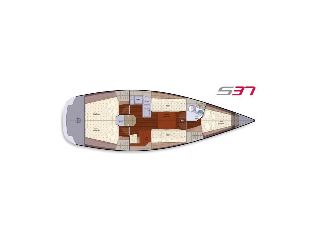 Salona 37, Red Zeppelin